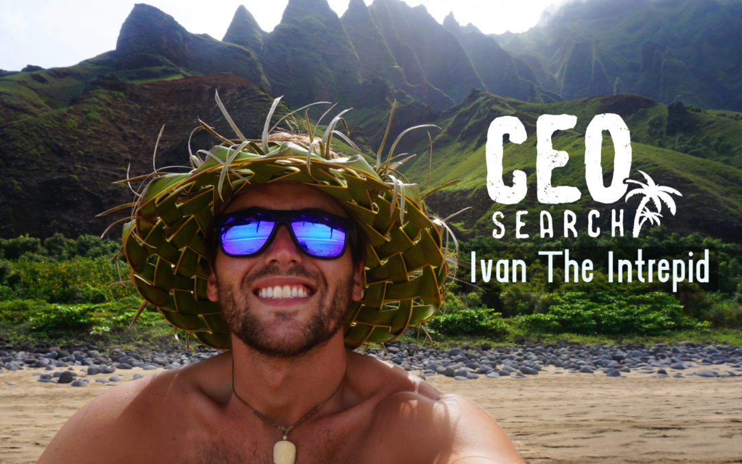 Ivan the Intrepid For CEO of Cancun.com- Top 50 Finalist